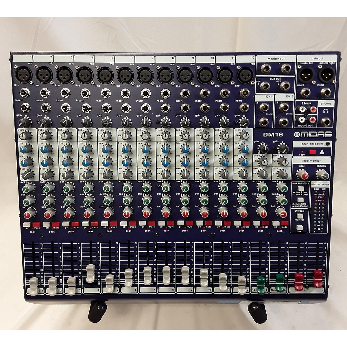Midas 2017 DM16 Unpowered Mixer
