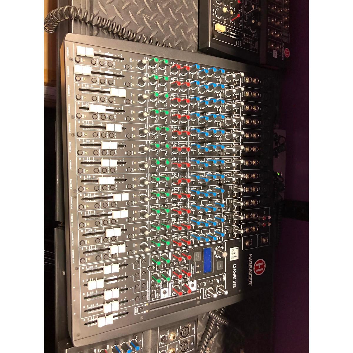 Harbinger 2017 L2404FX USB Unpowered Mixer
