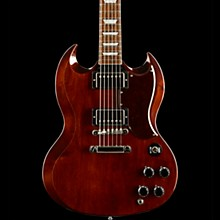 Gibson Custom 2017 Limited Run SG Standard Maple Top Electric Guitar Dark Cherry Stain Tortoise Pickguard