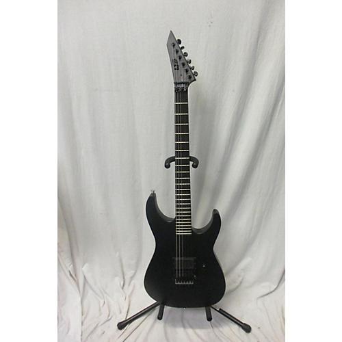 ESP 2017 Ltd M Black Metal Solid Body Electric Guitar