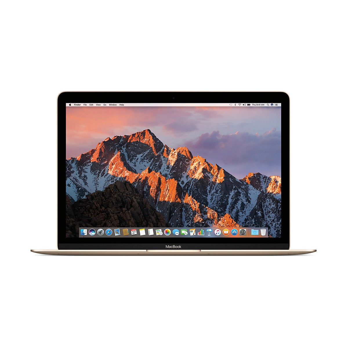 Apple 2017 MacBook 12 in. Core m3 1.2GHz 8GB RAM 256GB SSD Gold (MNYK2LL/A)
