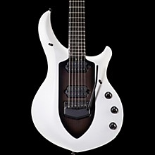 Ernie Ball Music Man 2017 Majesty 6 Black Hardware Electric Guitar Glacial Frost