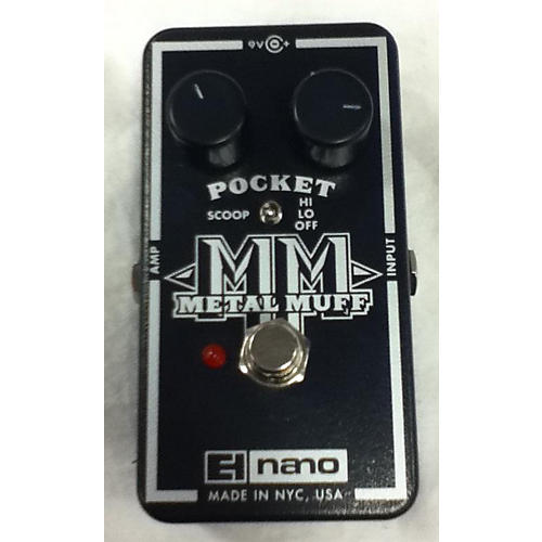 Electro-Harmonix 2017 Nano Pocket Metal Muff Distortion Effect Pedal