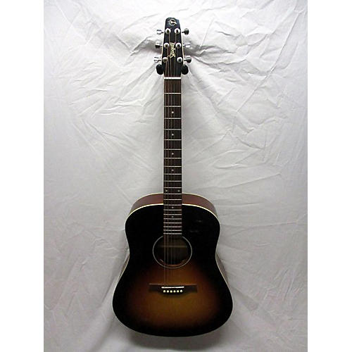 Seagull 2017 S6 Gt Acoustic Electric Guitar