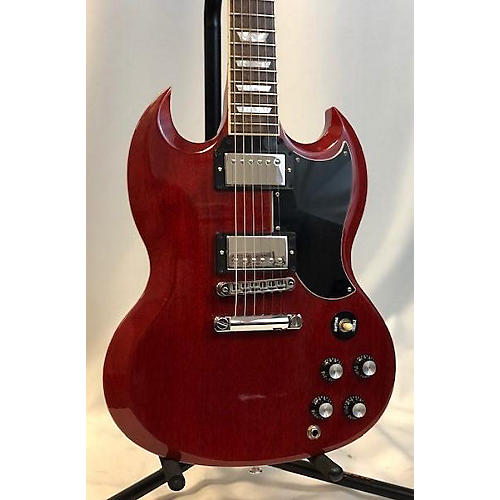 used gibson 2017 sg standard solid body electric guitar heritage cherry guitar center. Black Bedroom Furniture Sets. Home Design Ideas