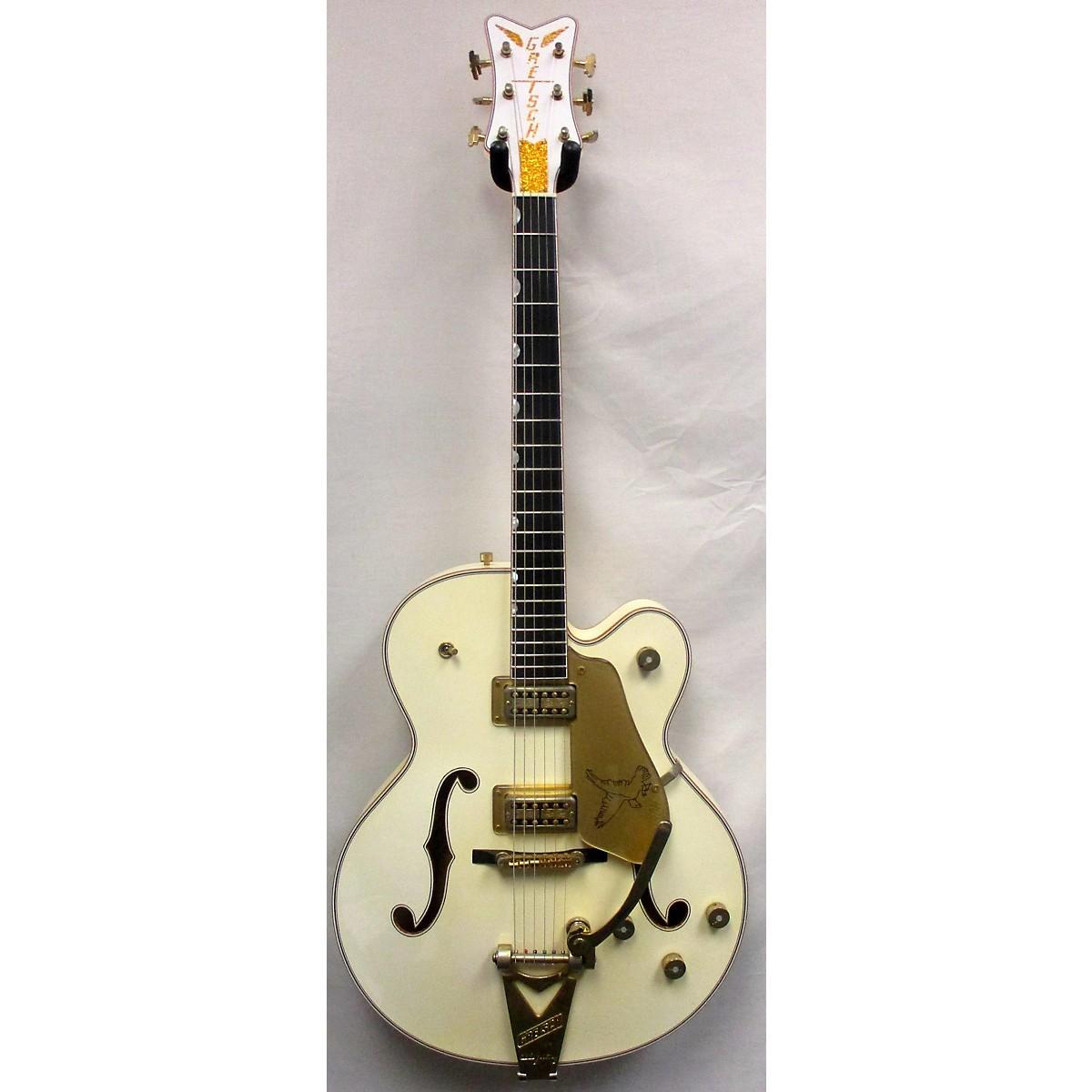 Gretsch Guitars 2017 USA Custom Shop White Falcon G6136-CS Stephen Stern Masterbuilt Closet Classic Hollow Body Electric Guitar