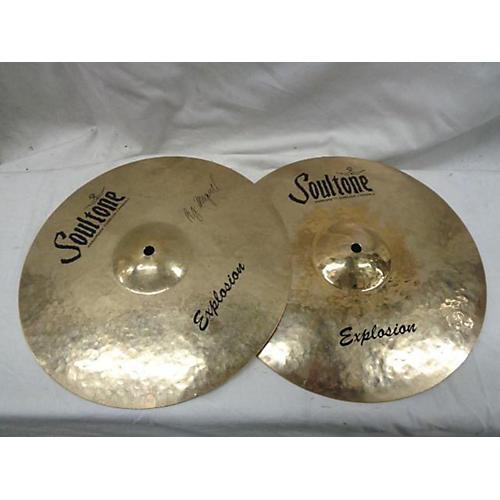 Soultone 2018 14in Explosion Hi Hat Pair Cymbal