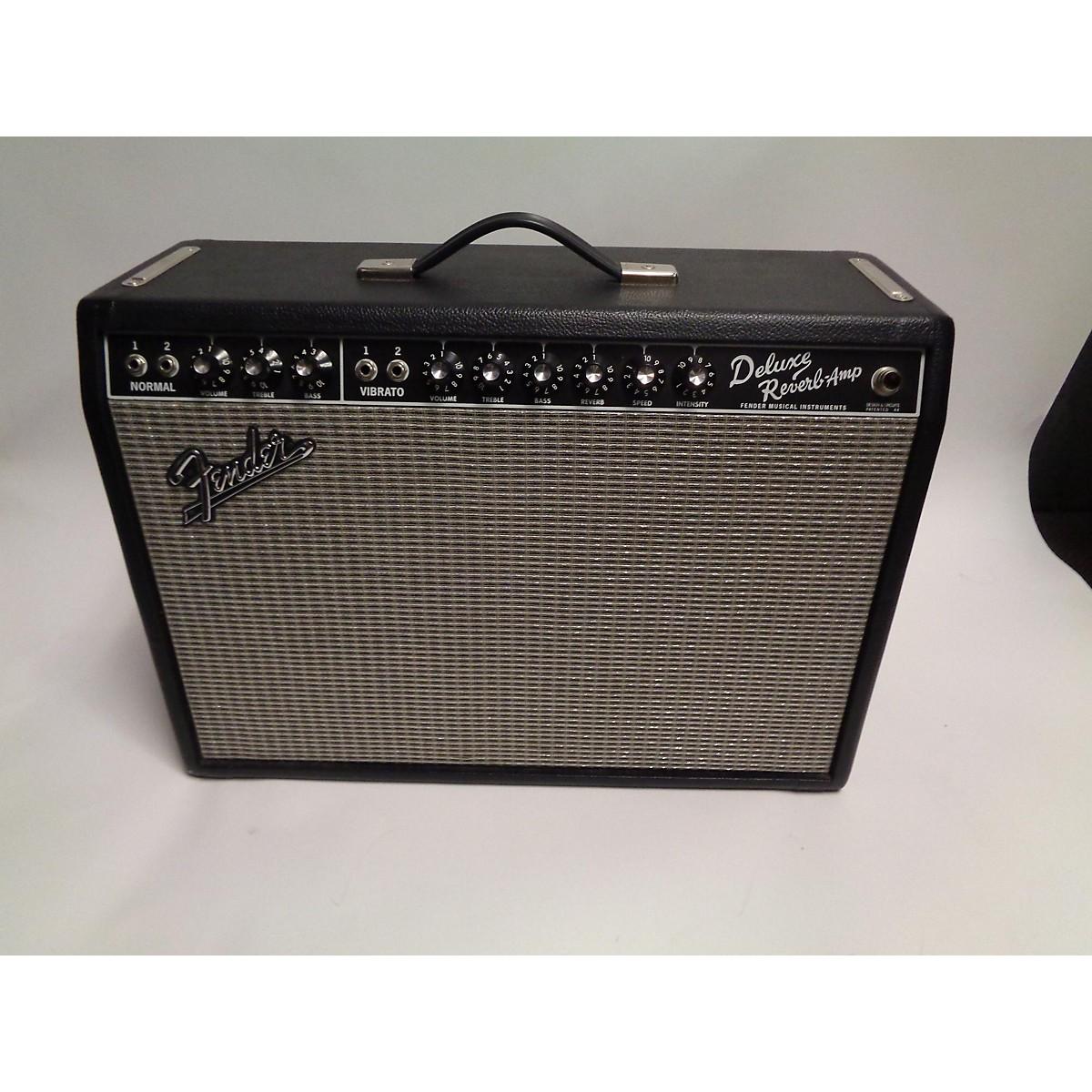 Fender 2018 1965 Reissue Deluxe Reverb 22W 1x12 Tube Guitar Combo Amp