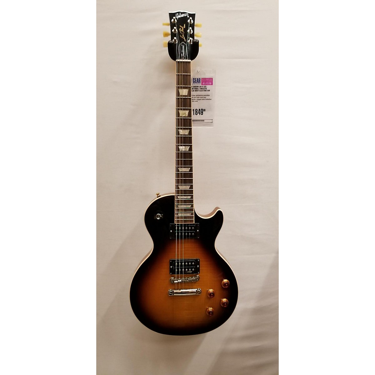 Gibson 2018 2018 Les Paul Traditional Solid Body Electric Guitar