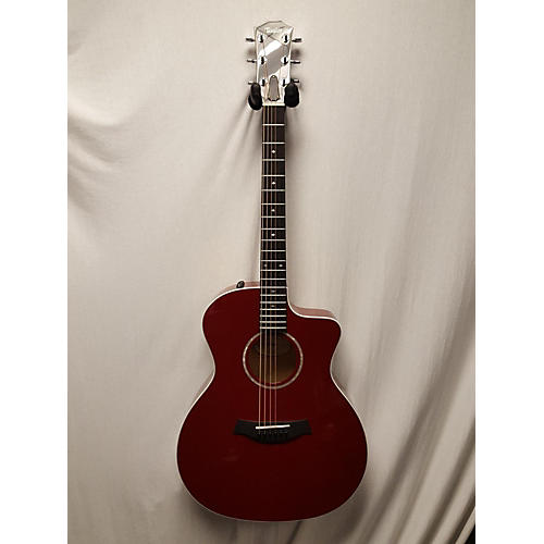 Taylor 2018 214CE RED HSC DELUXE Acoustic Electric Guitar