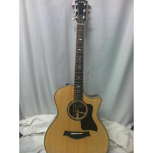 used taylor 2018 814ce acoustic electric guitar natural guitar center. Black Bedroom Furniture Sets. Home Design Ideas