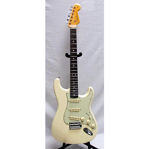 used fender 2018 american original 60s stratocaster solid body electric guitar olympic white. Black Bedroom Furniture Sets. Home Design Ideas