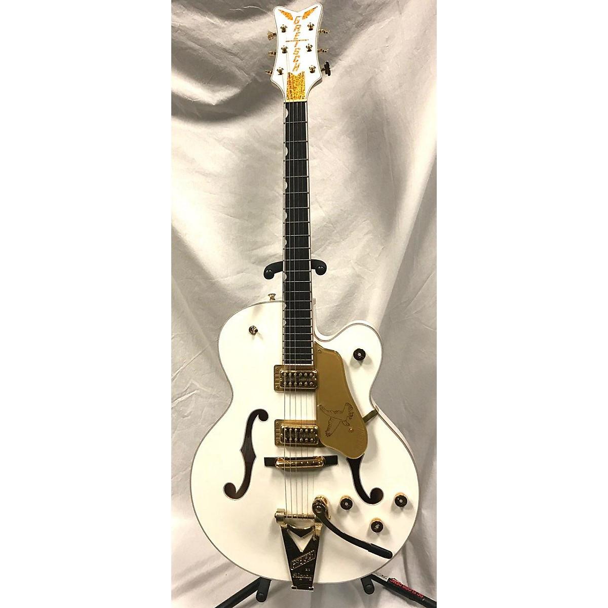 Gretsch Guitars 2018 G6136T White Falcon Bigsby Hollow Body Electric Guitar