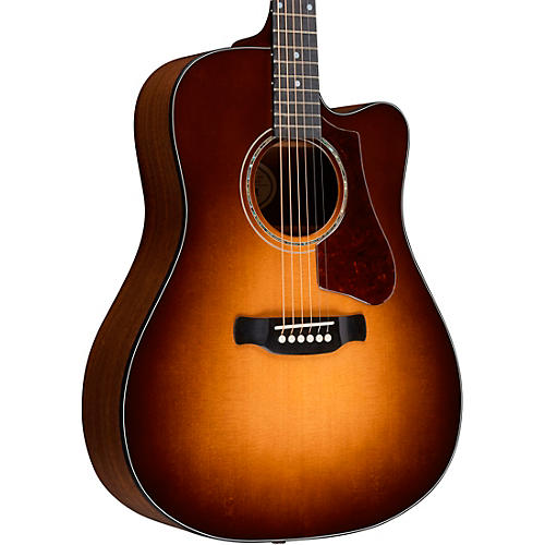 Gibson 2018 Hummingbird AG Walnut Burst Acoustic Electric Guitar