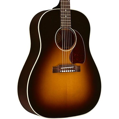 gibson 2018 j 45 standard acoustic electric guitar vintage sunburst guitar center. Black Bedroom Furniture Sets. Home Design Ideas