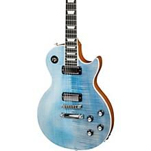 2018 Limited Run Les Paul Deluxe Player Plus Electric Guitar Ocean Blue