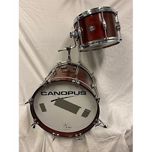 George Way Drums 2018 Mahogany Bop Drum Kit