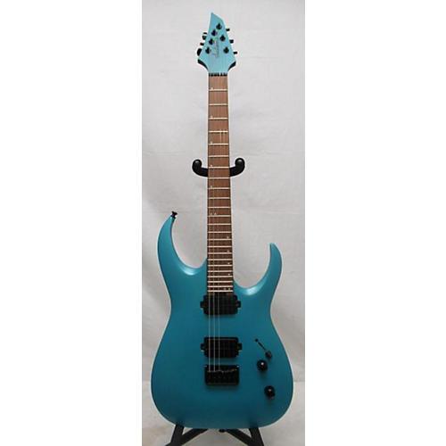 used jackson 2018 misha mansoor juggernaut ht6 solid body electric guitar matte blue frost. Black Bedroom Furniture Sets. Home Design Ideas