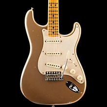 2018 NAMM Limited Edition Fat Head Relic Stratocaster Electric Guitar Aged Shoreline Gold