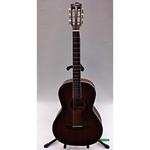 Fender 2018 Paramount PM-2E All Mah LE Acoustic Electric Guitar