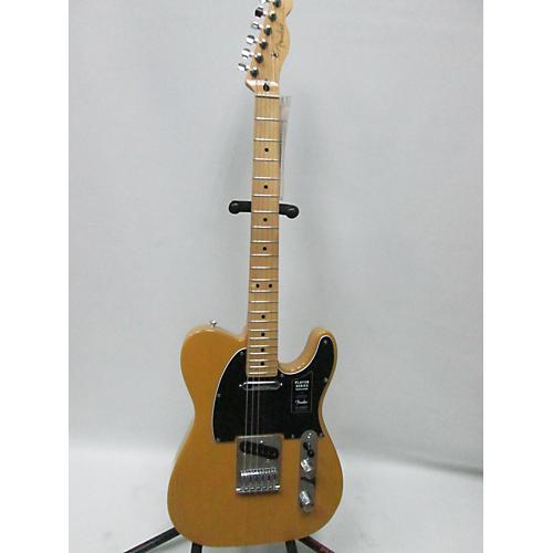 used fender 2018 player telecaster solid body electric guitar butterscotch guitar center. Black Bedroom Furniture Sets. Home Design Ideas