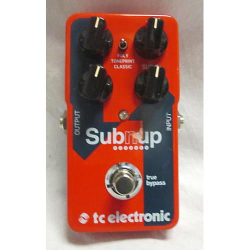 TC Electronic 2018 Subnup Effect Pedal