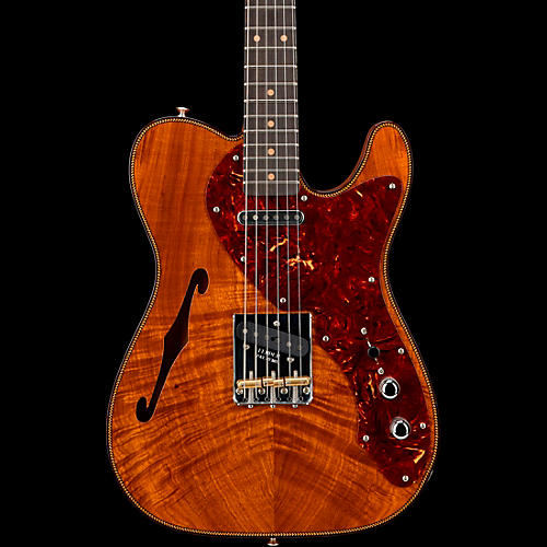 Fender Custom Shop 2019 Artisan Koa Thinline Telecaster Electric Guitar