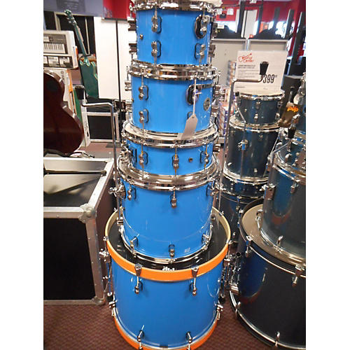 used pdp by dw 2019 concept series drum kit sonic blue guitar center. Black Bedroom Furniture Sets. Home Design Ideas