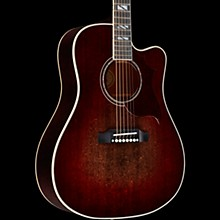 Gibson 2019 Hummingbird Chroma Acoustic-Electric Guitar Black Cherry Burst