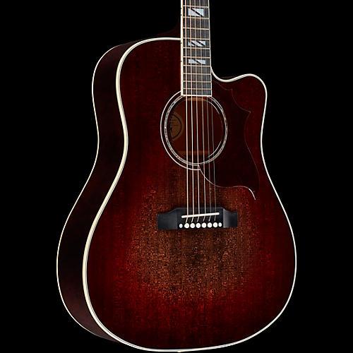 gibson 2019 hummingbird chroma acoustic electric guitar black cherry burst guitar center. Black Bedroom Furniture Sets. Home Design Ideas