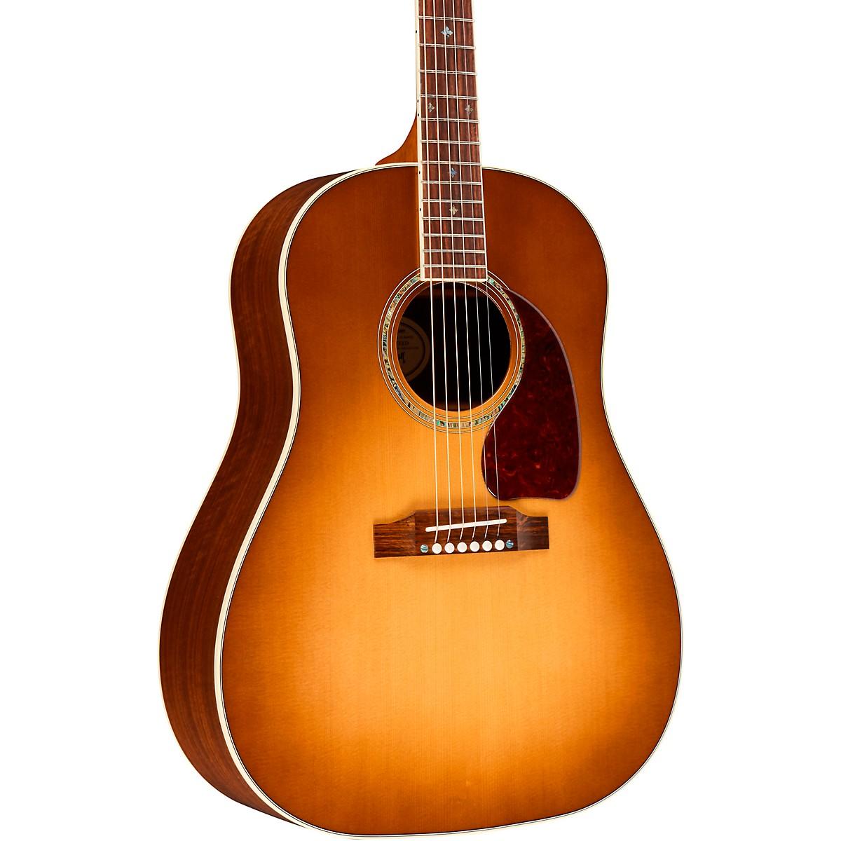 Gibson 2019 J-45 Walnut Custom Acoustic-Electric Guitar