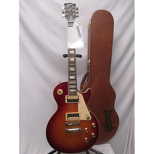 used gibson 2019 les paul classic solid body electric guitar cherry sunburst guitar center. Black Bedroom Furniture Sets. Home Design Ideas