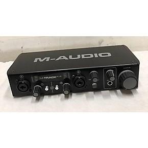 used m audio 2019 m track plus audio interface guitar center. Black Bedroom Furniture Sets. Home Design Ideas