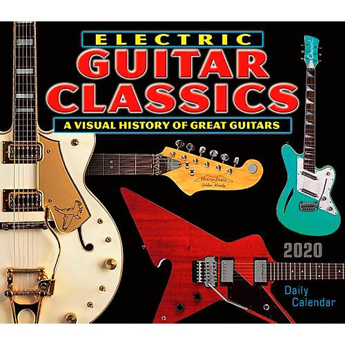 Hal Leonard 2020 Electric Guitar Classics Daily Desk Calendar