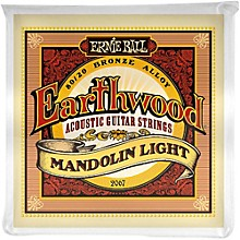 Ernie Ball 2067 Earthwood 80/20 Bronze Mandolin Light Strings