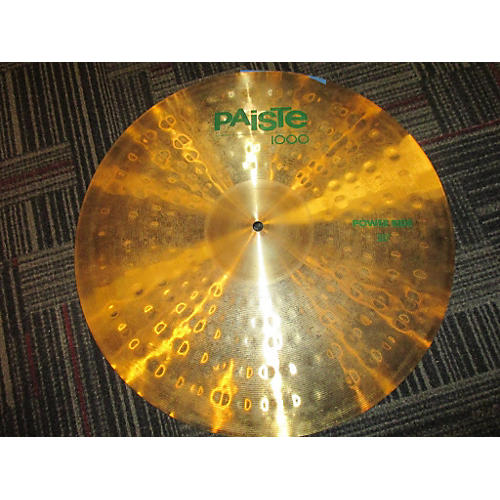 Paiste 20in 1000 POWER RIDE Cymbal