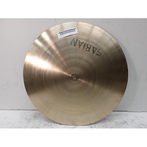 Sabian 20in 1980s AA Flat Ride Cymbal