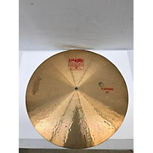 Paiste 20in 2002 Flat Ride Cymbal
