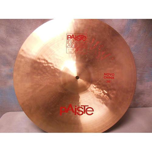 Paiste 20in 2002 Novo China Cymbal