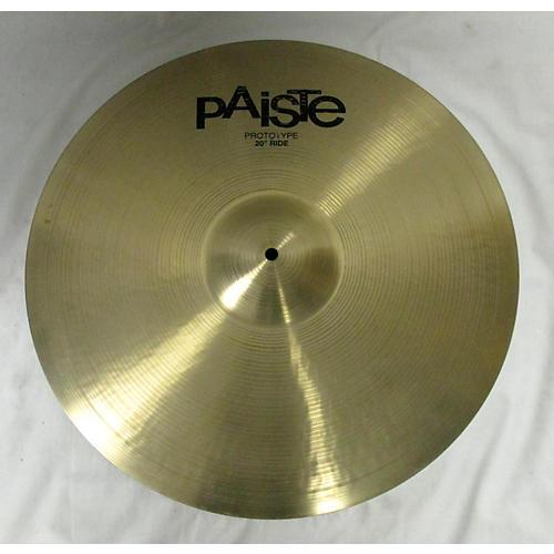 Paiste 20in 2K2 Prototype Ride Cymbal