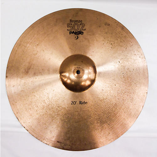 used paiste 20in 502 bronze cymbal guitar center. Black Bedroom Furniture Sets. Home Design Ideas