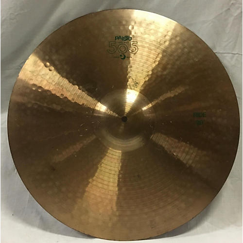 Paiste 20in 505 Ride Cymbal