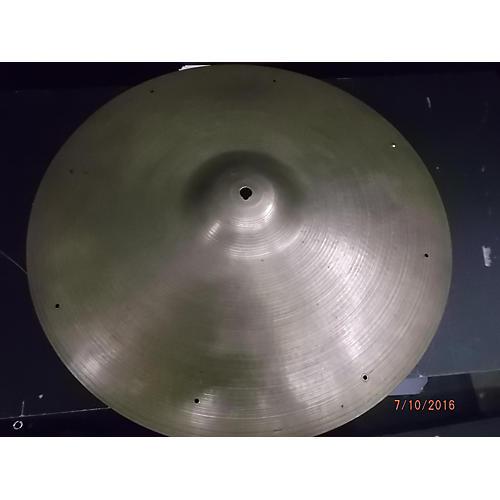 Zildjian 20in A Custom Medium Sizzle Ride Cymbal