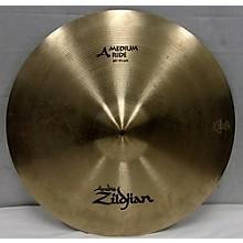 Zildjian 20in A MEDIUM RIDE Cymbal