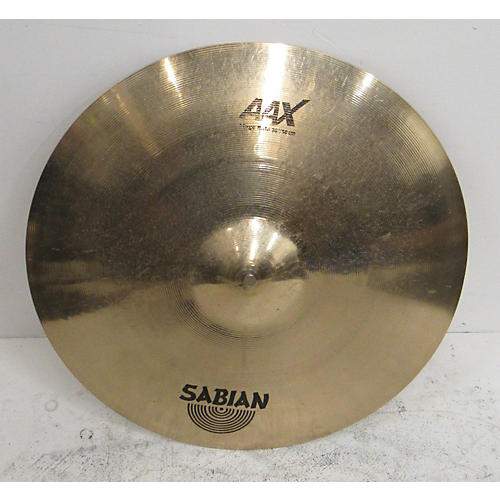 used sabian 20in aax stage ride cymbal 40 guitar center. Black Bedroom Furniture Sets. Home Design Ideas
