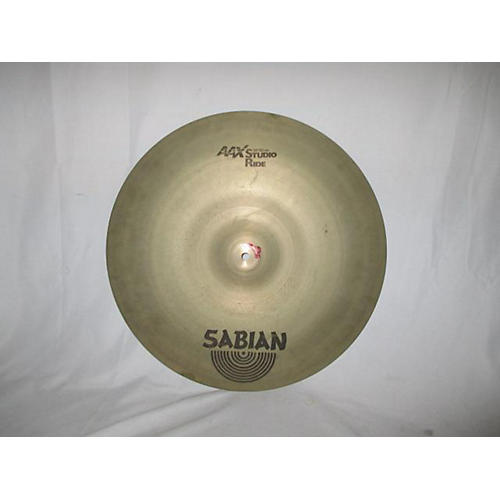 Sabian 20in AAX Studio Ride Brilliant Cymbal