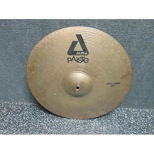 Paiste 20in Alpha Full Ride Cymbal
