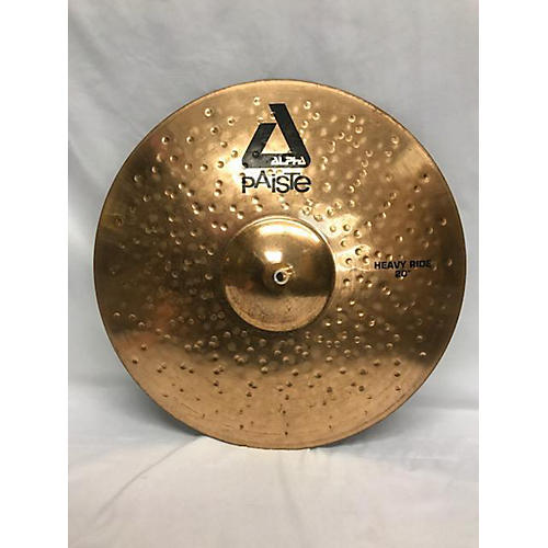 Paiste 20in Alpha Heavy Ride Cymbal