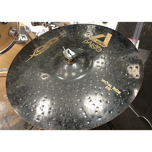 Paiste 20in Alpha Metal Ride Brilliant Cymbal