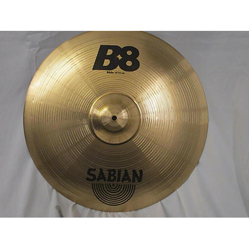 used sabian 20in b8 ride cymbal 40 guitar center. Black Bedroom Furniture Sets. Home Design Ideas